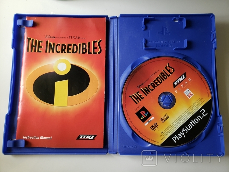 Disney's Pixar - The Incredibles (PAL, PS2), фото №4