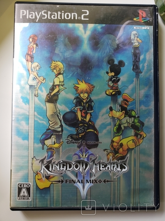 Kingdom Hearts II: Final Mix (ps2, ntsc-j), фото №2