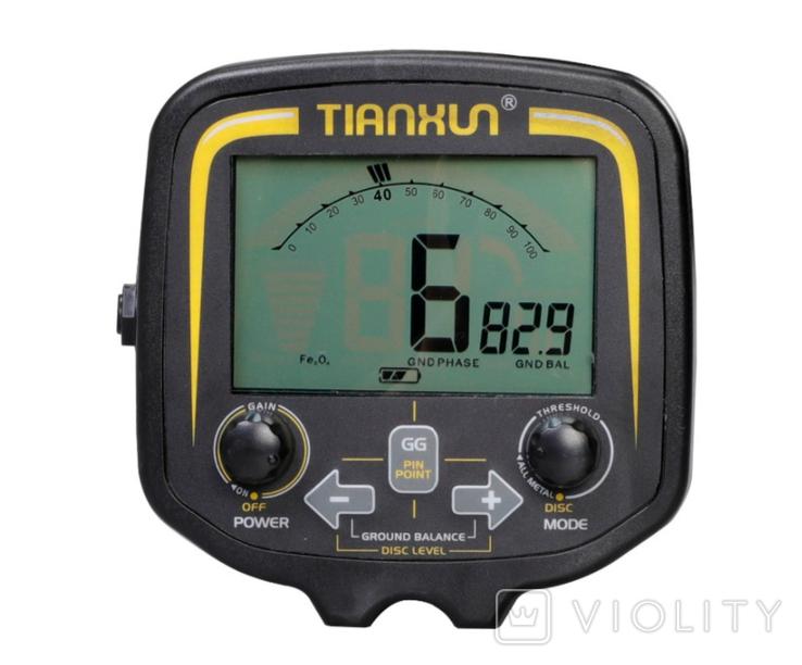 Металлоискатель Tianxun TX-850, аналог FISHER Gold Bug Teknetics G2, фото №3