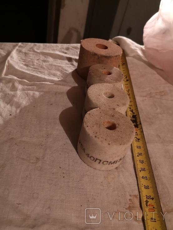 Круг шлифовальная чашка цилиндрической формы 4 штуки, фото №3