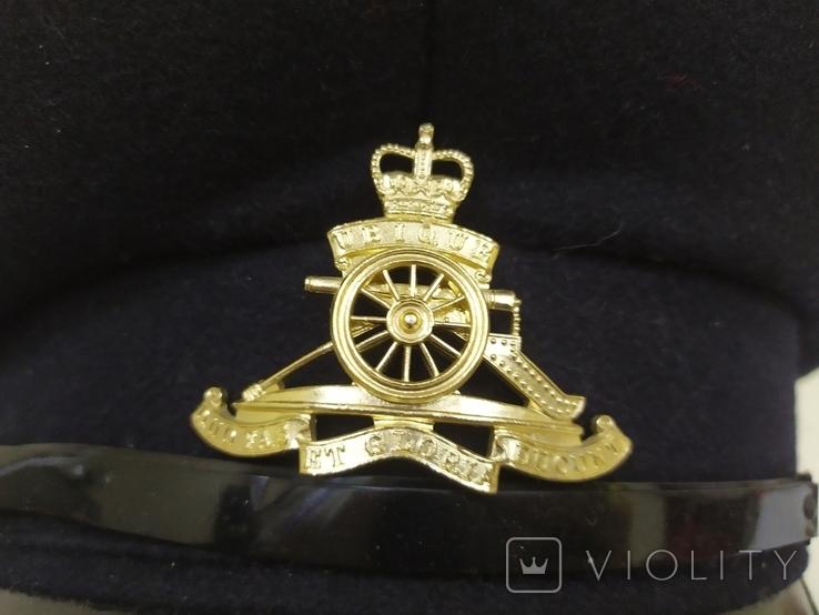 Головной убор Королевский полк артиллерии. Ubique Quo Fas Et Gloria Ducunt. Англия. 56рр, фото №4