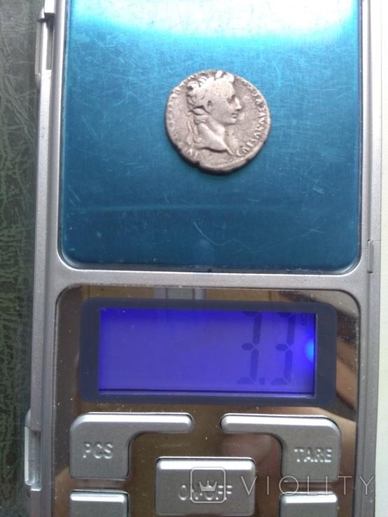 Денарій Октавіана Августа 63до н.е-14н.е, фото №4
