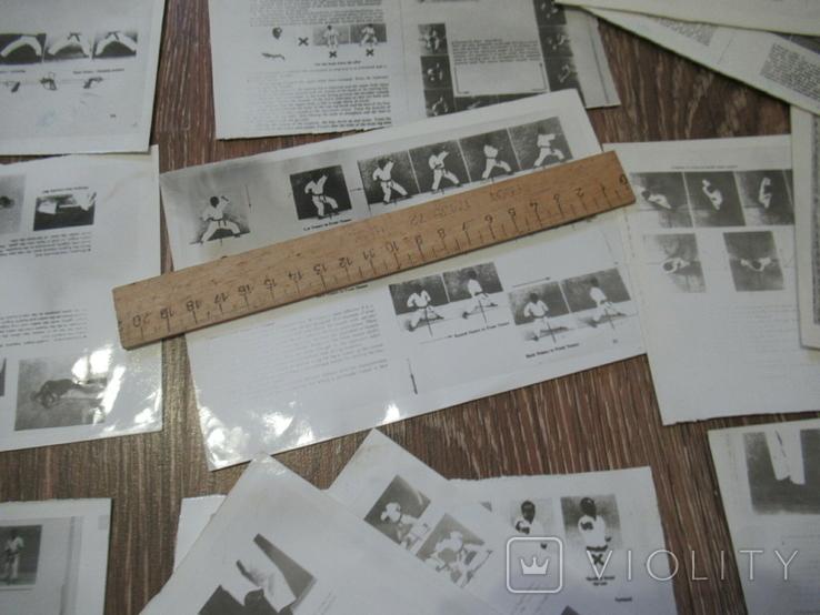 Фоторепродукция Брюс Ли +часть книга по карате, фото №3