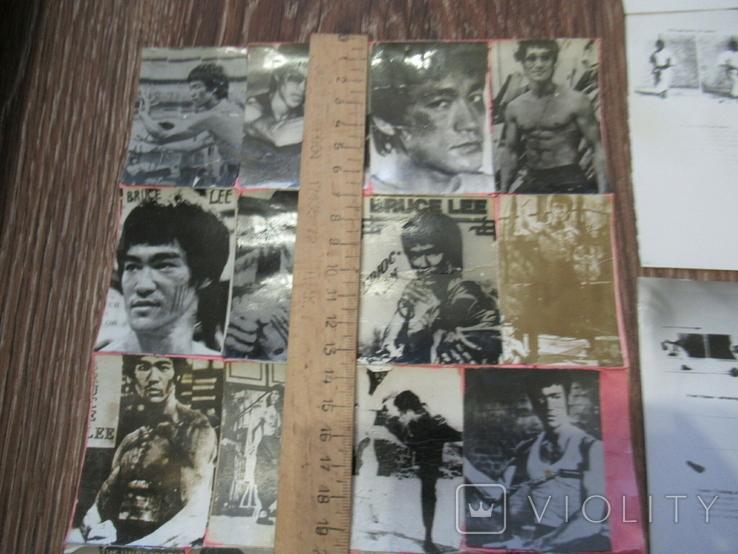 Фоторепродукция Брюс Ли +часть книга по карате, фото №5