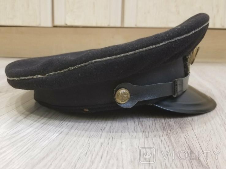 Морская офицерская фуражка 1955года, фото №11