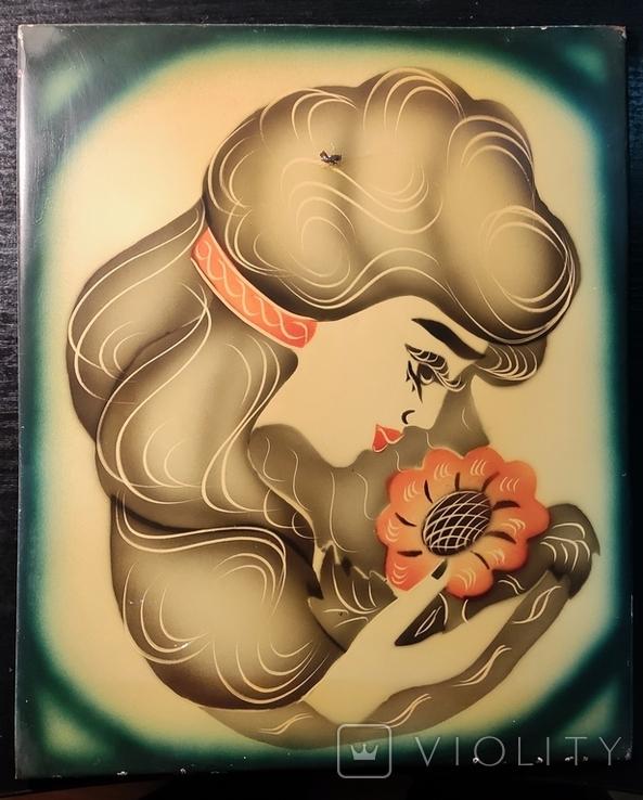 Девушка с цветком, фото №2