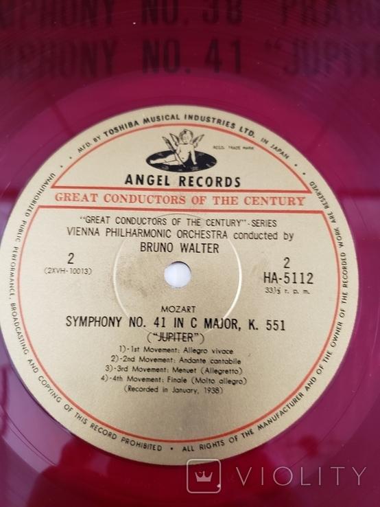 "Red Seal Vinyl. Classical. ""Bruno Walter - Mozart Prague/Jupiter"", фото №5"
