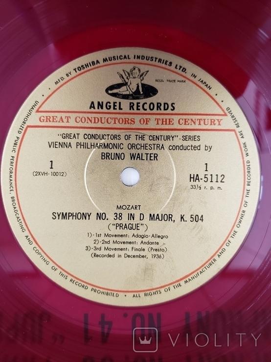 "Red Seal Vinyl. Classical. ""Bruno Walter - Mozart Prague/Jupiter"", фото №6"