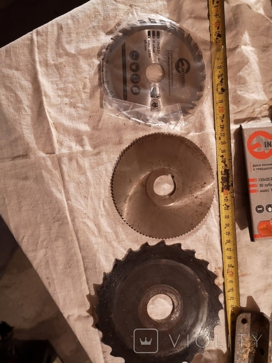 Диски пильные для циркулярной пилы 3 штуки, фото №2