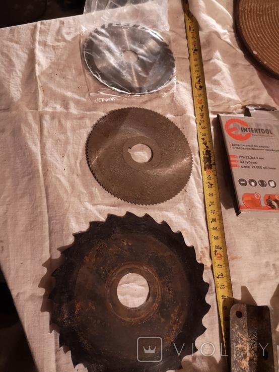 Диски пильные для циркулярной пилы 3 штуки, фото №13