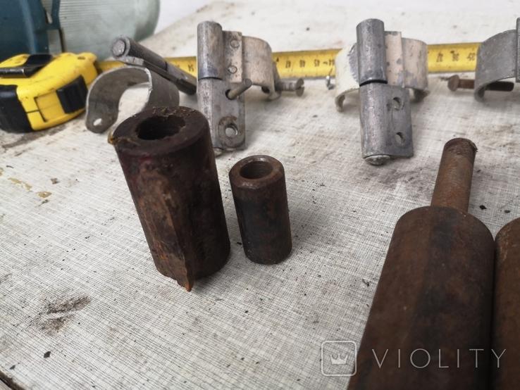 Петли завесы дверные гаражные части уборка гаража, фото №11