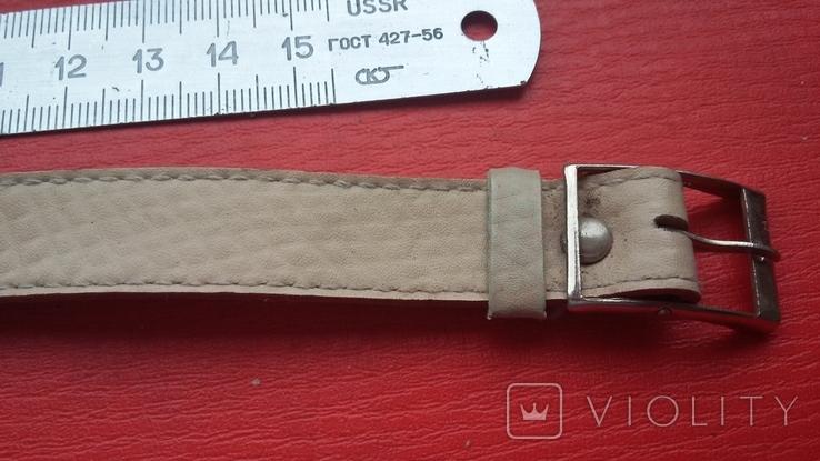 Ремешок кожаный из СССР, фото №2