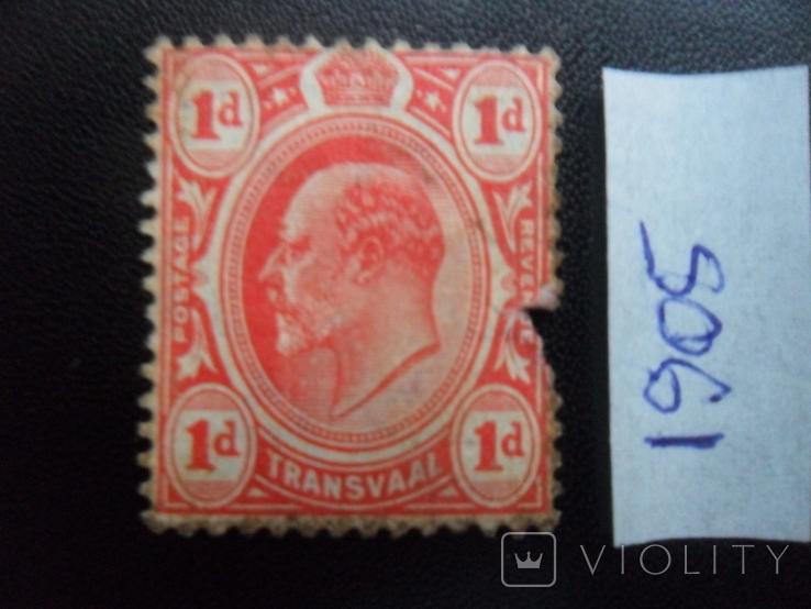 Британские колонии. Трансвааль. 1905 г. МН, фото №2