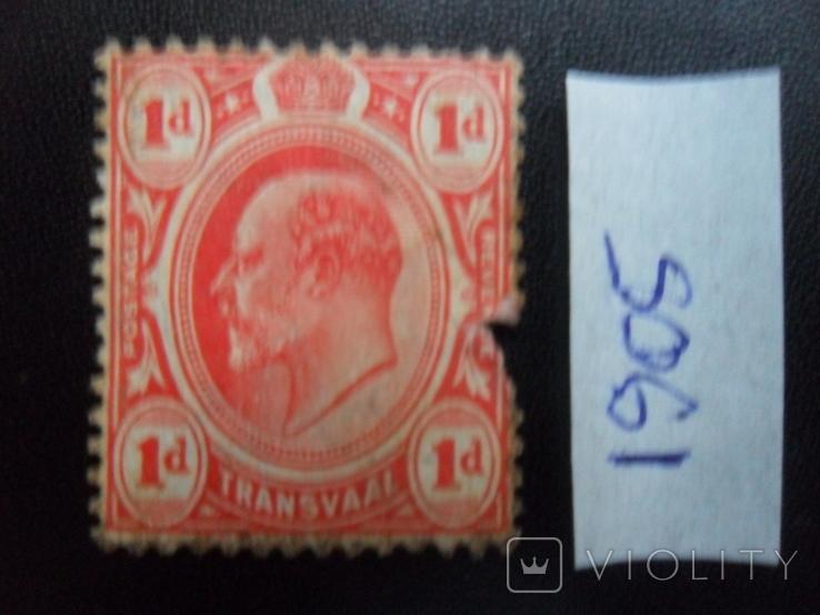 Британские колонии. Трансвааль. 1905 г. МН, фото №3