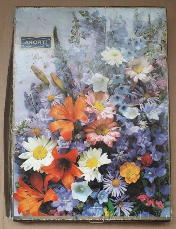 Коробка от Конфет, Ассорти, Каунасская Конд Ф-Ка, Литовская ССР, фото №2