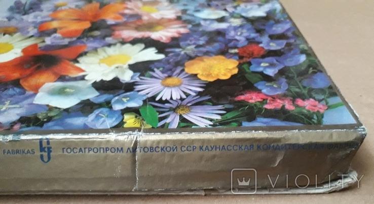 Коробка от Конфет, Ассорти, Каунасская Конд Ф-Ка, Литовская ССР, фото №7