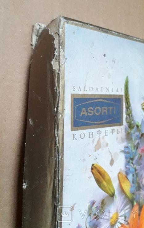 Коробка от Конфет, Ассорти, Каунасская Конд Ф-Ка, Литовская ССР, фото №12