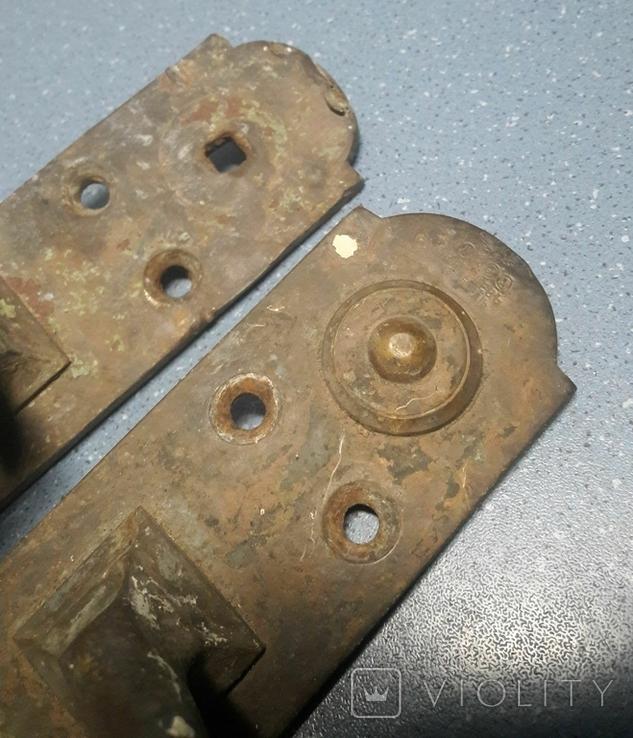 Две старинные дверные ручки, Каменев в Туле, фото №4