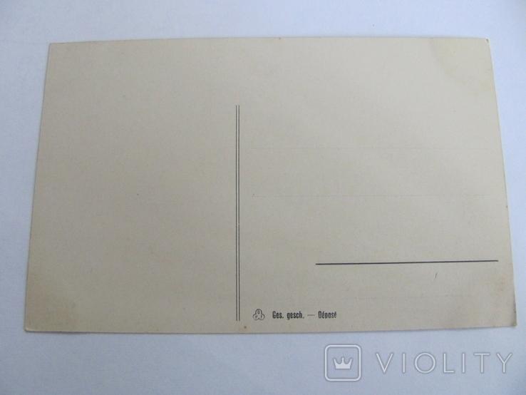 Дореволюционная открытка, Германия, Парусник№1, фото №3