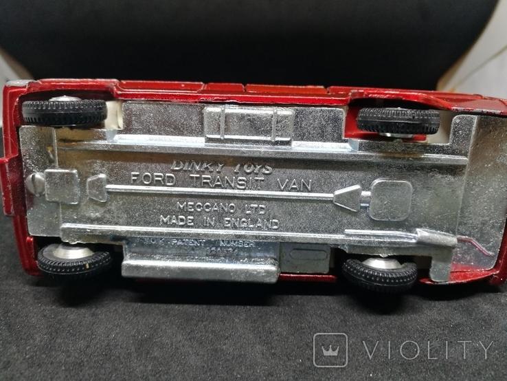 Dinky Toys No.407 Ford Transit Mk1, фото №9