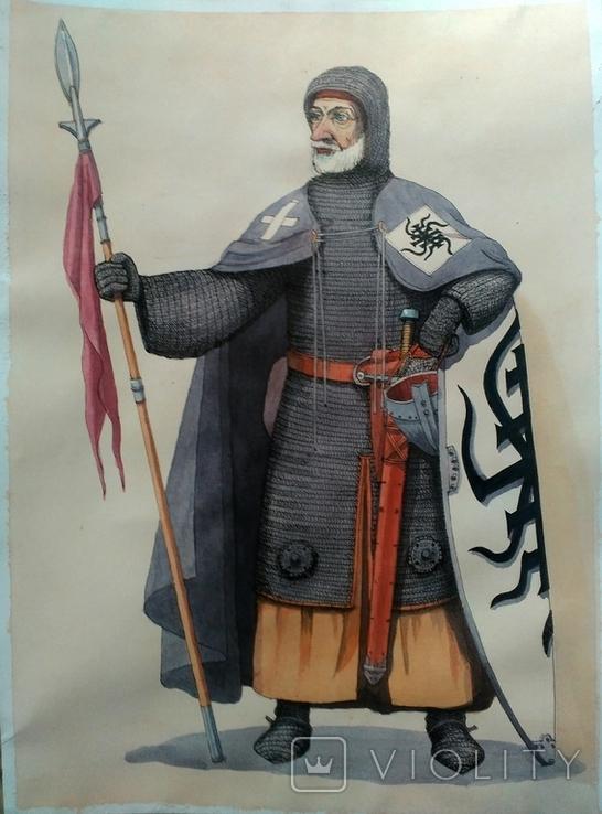 Средневековый рыцарь, фото №2