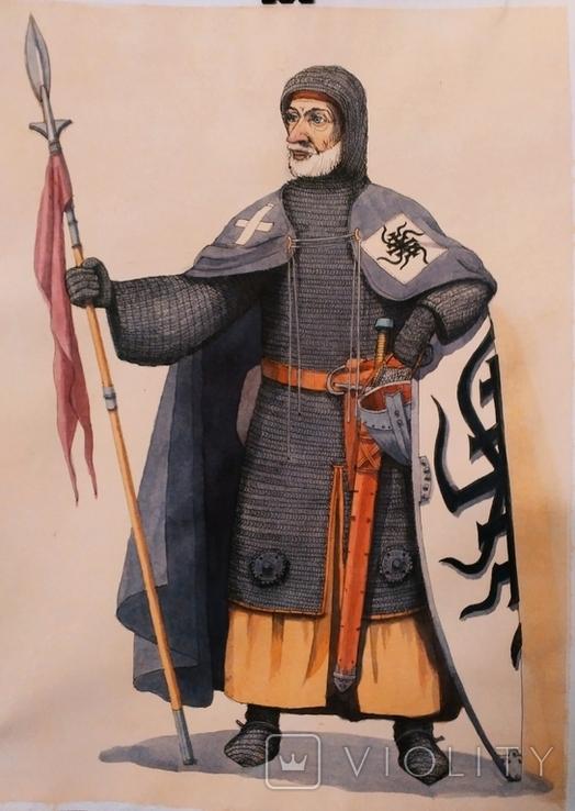 Средневековый рыцарь, фото №3