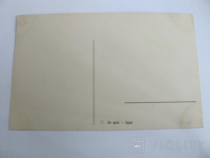 Дореволюционная открытка, печать Германии, Парусник№4, фото №3