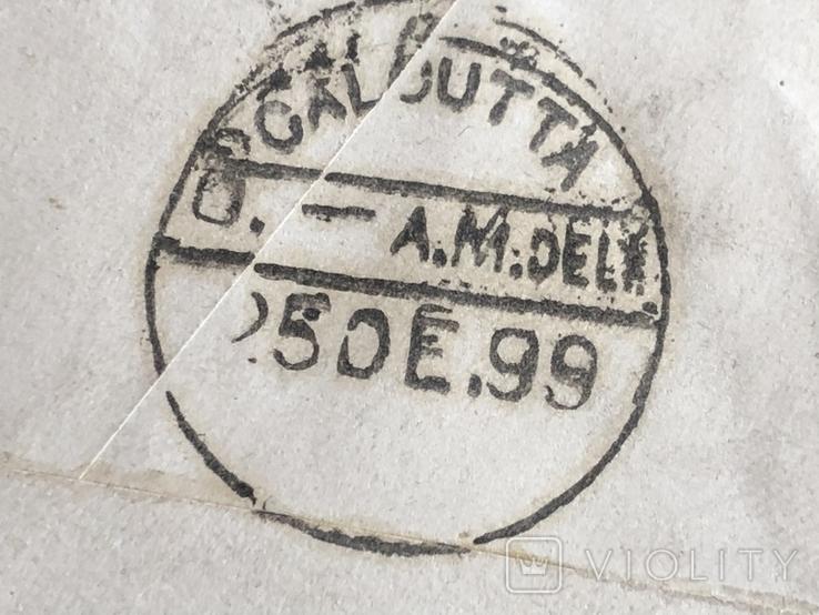 Калькутта . Колониальная Индия. 1899 год., фото №4
