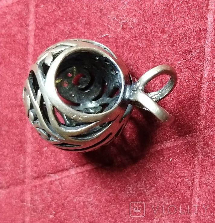 Гарнитур, серебро 925, фото №6