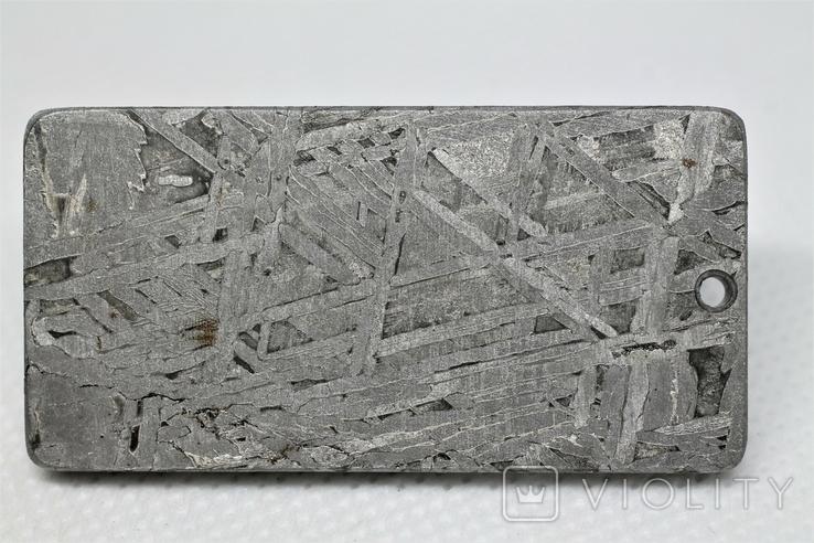 """Кулон """"Зодіак Кінь"""" з  метеорита Aletai, 40,9 грам, із сертифікатом автентичності, фото №7"""