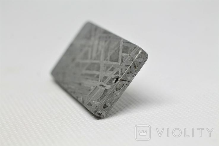 """Кулон """"Зодіак Кінь"""" з  метеорита Aletai, 40,9 грам, із сертифікатом автентичності, фото №9"""