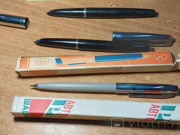 Дот советских ручек и коробок, фото №4
