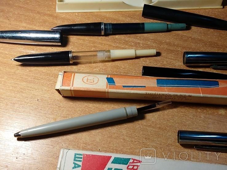 Дот советских ручек и коробок, фото №7