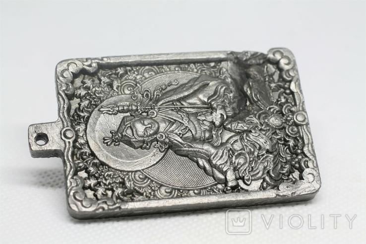 """Кулон """"Гуру Падмасамбхава"""" із  метеорита Aletai, 75,2 грам, із сертифікатом автентичності, фото №5"""