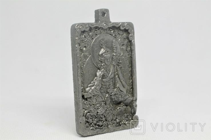 """Кулон """"Гуру Падмасамбхава"""" із  метеорита Aletai, 75,2 грам, із сертифікатом автентичності, фото №6"""