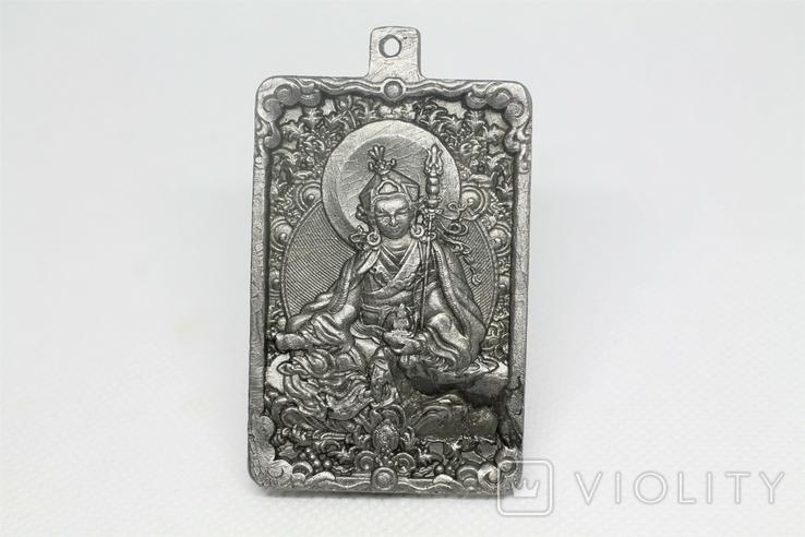 """Кулон """"Гуру Падмасамбхава"""" із  метеорита Aletai, 75,2 грам, із сертифікатом автентичності, фото №2"""