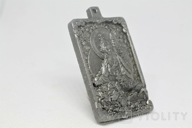 """Кулон """"Гуру Падмасамбхава"""" із  метеорита Aletai, 75,2 грам, із сертифікатом автентичності, фото №8"""