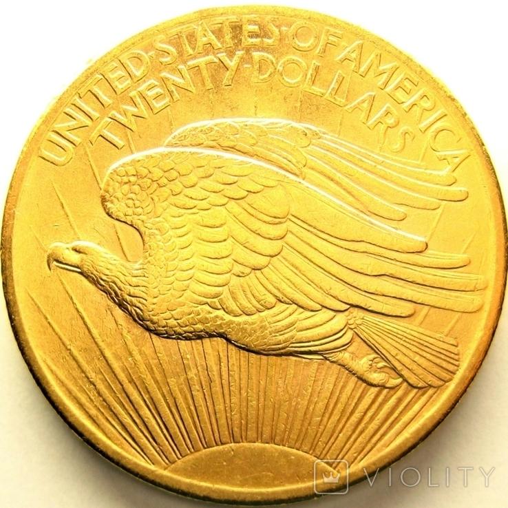 США 20 долларов 1907 г., фото №3