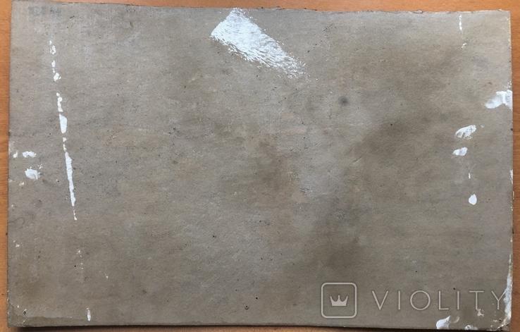 Антон Шепа 35х48, картон, масло + книга про автора и его работы, фото №3