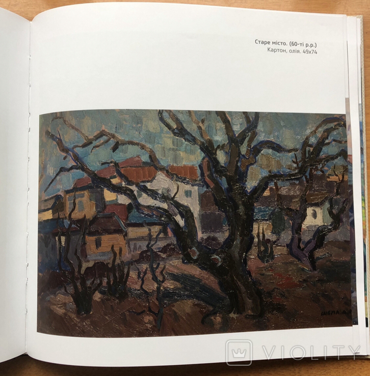 Антон Шепа 35х48, картон, масло + книга про автора и его работы, фото №7