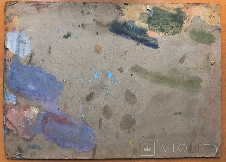 Антон Шепа 36,5х51 картон, масло + книга про автора и его работы, фото №3
