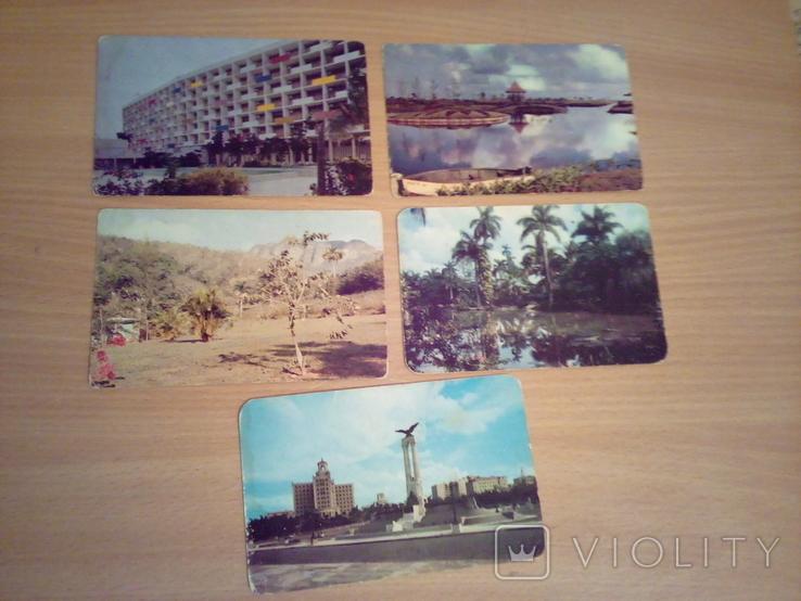 Куба, 5 открыток, изд. Гавана, фото №2