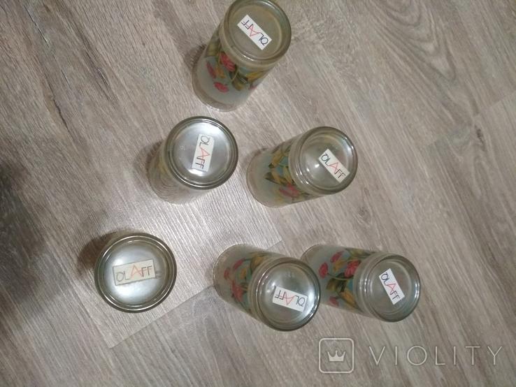 Стаканы набор 6 шт., без повреждений, фото №5