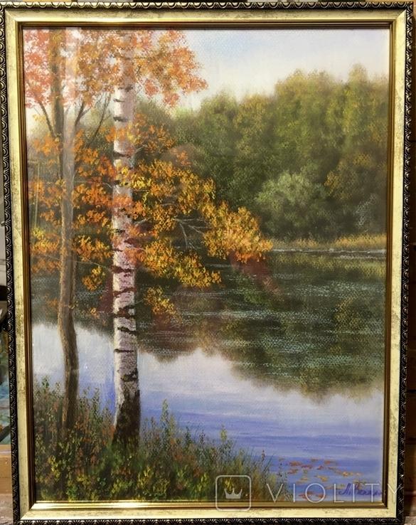 «Осень золотая» 30/40см., фото №2