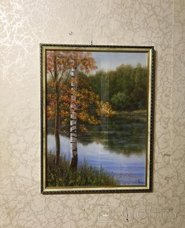 «Осень золотая» 30/40см., фото №3