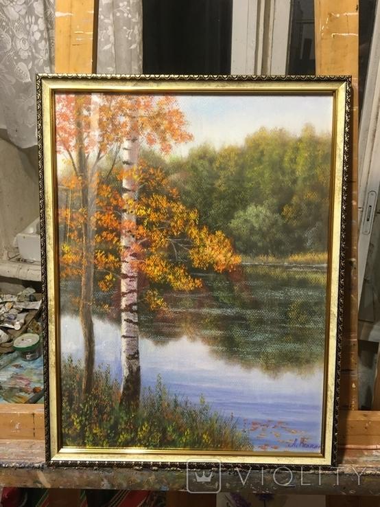 «Осень золотая» 30/40см., фото №6