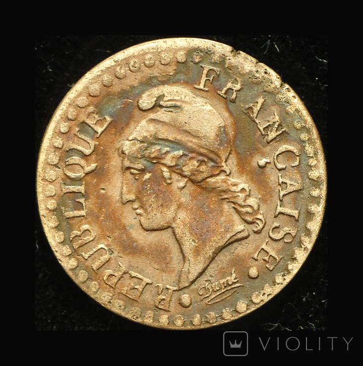 Франция 1 сентим 1798, фото №2