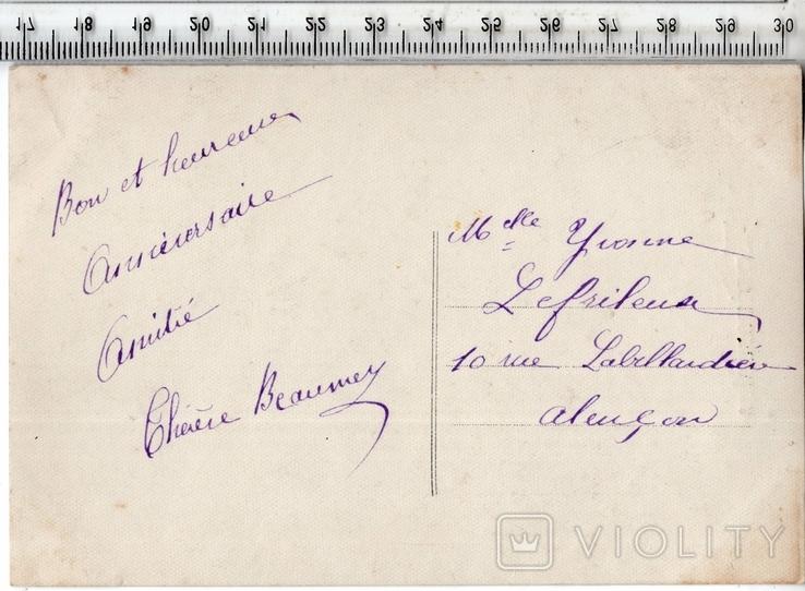 Старинная открытка. После 1945 года. Разное.(3), фото №3