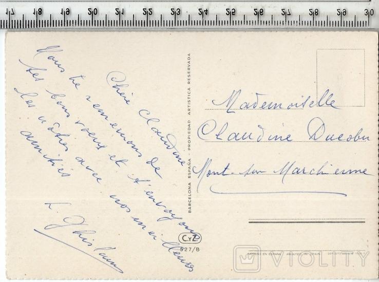 Старинная открытка. После 1945 года. Разное., фото №3