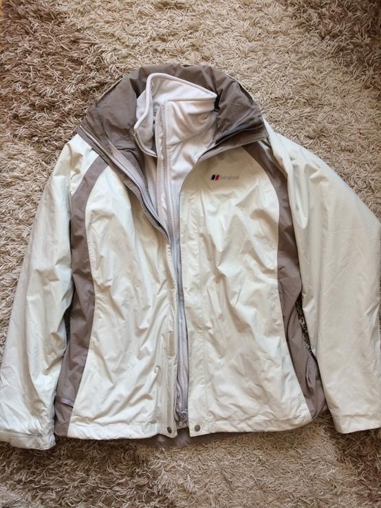 Куртка berghaus с флисовой кофтой, фото №2